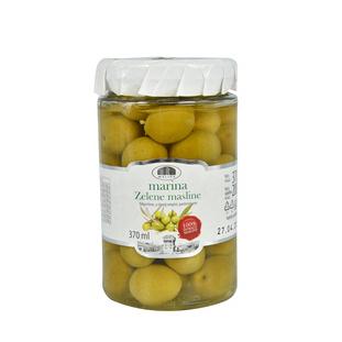 Zielone oliwki z pestkami
