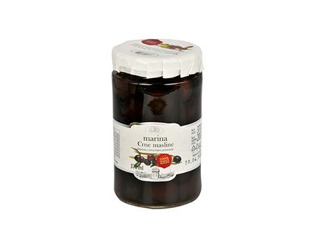 Czarne oliwki z pestkami